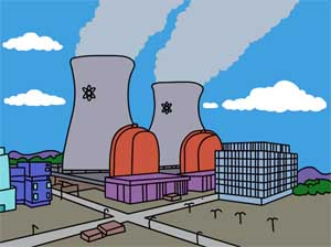 how to draw a power plant